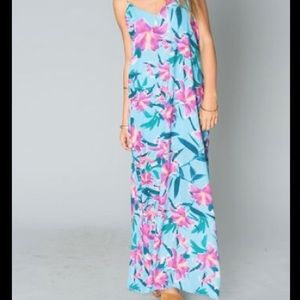 Show Me Your Mumu Sea Lilies Montecito Dress